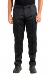 "Hugo Boss Men's ""Leeman5"" Tapered Fit Stretch Gray Casual Pants"