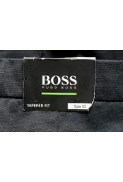 """Hugo Boss Men's """"Leeman5"""" Tapered Fit Stretch Gray Casual Pants: Picture 4"""