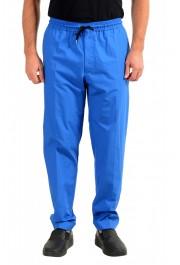 """Hugo Boss Men's """"Oliwer"""" Royal Blue Casual Pants"""