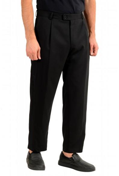"Hugo Boss Men's ""Fatal191F1"" Black 100% Wool Dress Pants: Picture 2"