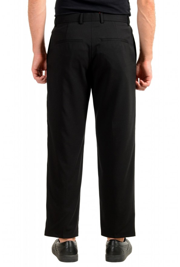 "Hugo Boss Men's ""Fatal191F1"" Black 100% Wool Dress Pants: Picture 3"