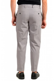 """Hugo Boss Men's """"Perin1"""" Gray Flat Front Casual Pants: Picture 3"""