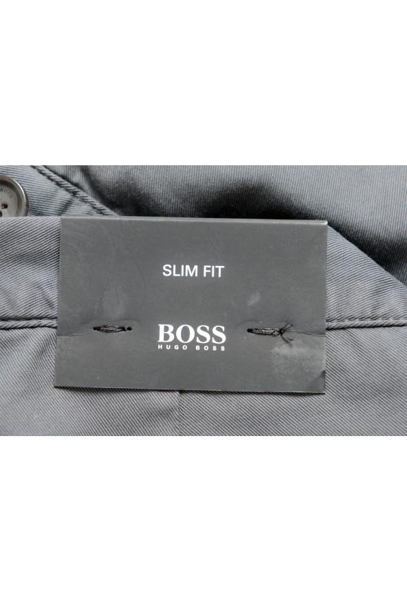 "Hugo Boss Men's ""Rise3-D"" Slim Fit Gray Casual Pants: Picture 4"
