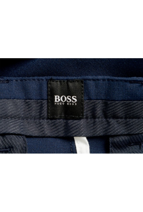 """Hugo Boss Men's """"Kaito3-Stitch1"""" Slim Fit Dark Blue Wool Casual Pants: Picture 5"""
