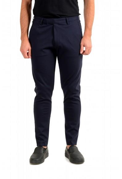 "Hugo Boss Men's ""Hendris183"" Navy Blue Casual Pants"