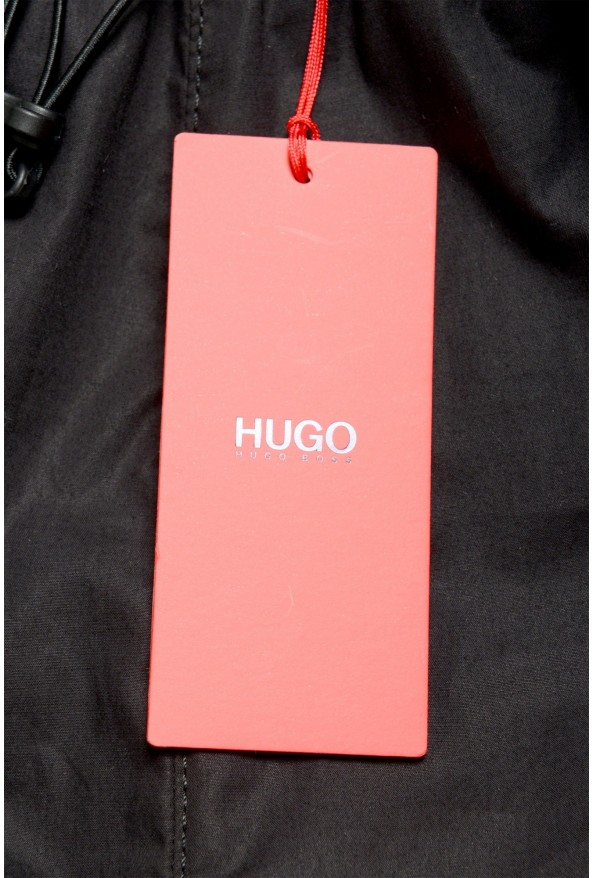 "Hugo Boss Men's ""Zeyro193"" Black track Casual Pants: Picture 4"