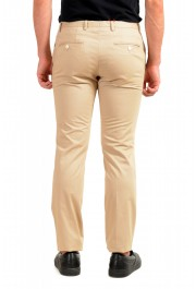 "Hugo Boss Men's ""Gerald182W"" Slim Fit Beige Flat Front Casual Pants: Picture 3"