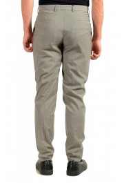 """Hugo Boss Men's """"Pitko2"""" Gray Wool Flat Front Casual Pants: Picture 3"""