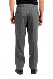 "Hugo Boss Men's ""Genesis4"" Gray Wool Flat Front Dress Pants: Picture 3"