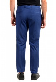 "Hugo Boss Men's ""Hesten182"" Extra Slim Fit Blue Wool Dress Pants : Picture 3"