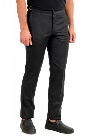 "Hugo Boss Men's ""Bardo"" Gray 100% Wool Casual Pants: Picture 2"