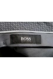 "Hugo Boss Men's ""Bardo"" Gray 100% Wool Casual Pants: Picture 5"