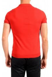 """Prada Men's """"UMA056"""" Bright Red Short Sleeve Polo Shirt: Picture 3"""