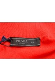 """Prada Men's """"UMA056"""" Bright Red Short Sleeve Polo Shirt: Picture 5"""