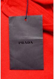 """Prada Men's """"UMA056"""" Bright Red Short Sleeve Polo Shirt: Picture 7"""
