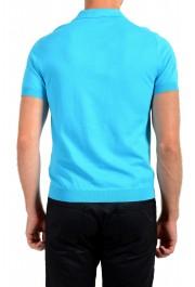 """Prada Men's """"UMA056"""" Bright Blue Short Sleeve Polo Shirt: Picture 3"""