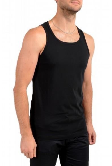 "Hugo Boss Men's ""Beach Tank Top"" Black Logo Print Tank Top T-Shirt: Picture 2"