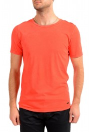 "Hugo Boss Men's ""Tokks"" Bright Orange Crewneck T-Shirt"