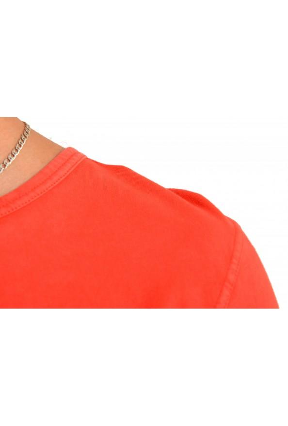 "Hugo Boss Men's ""Tokks"" Bright Orange Crewneck T-Shirt: Picture 4"