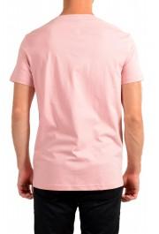 "Hugo Boss Men's ""T-Shirt RN"" Pink Regular Fit Crewneck T-Shirt: Picture 3"