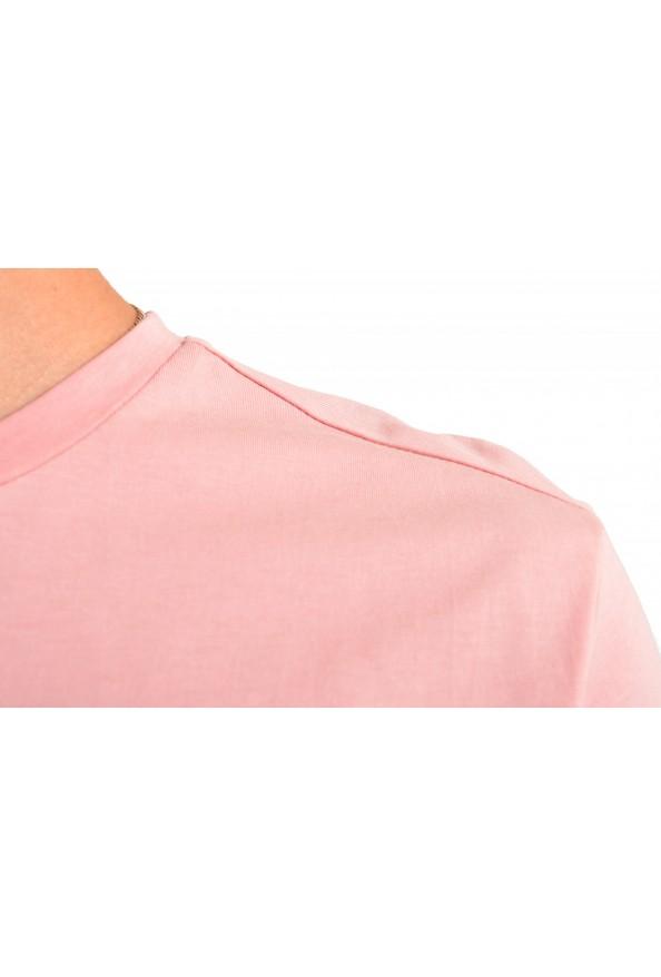 "Hugo Boss Men's ""T-Shirt RN"" Pink Regular Fit Crewneck T-Shirt: Picture 4"