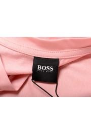 "Hugo Boss Men's ""T-Shirt RN"" Pink Regular Fit Crewneck T-Shirt: Picture 5"