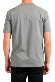 "Hugo Boss Men's ""Tiburt 231"" Gray Crewneck Graphic Print T-Shirt: Picture 3"