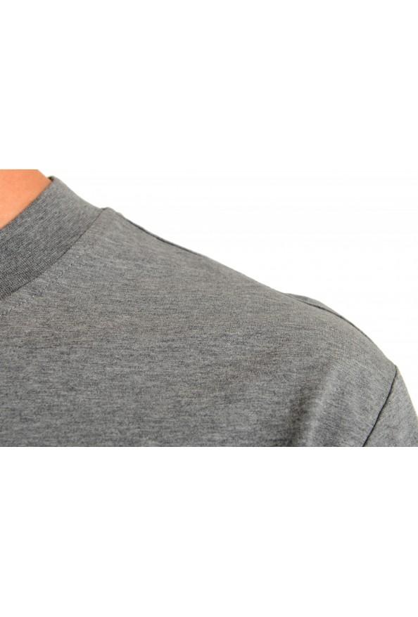 "Hugo Boss Men's ""Tiburt 231"" Gray Crewneck Graphic Print T-Shirt: Picture 4"