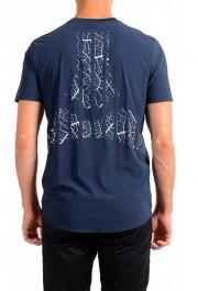 "Hugo Boss Men's ""Teetech 2"" Slim Fit Blue Stretch Crewneck T-Shirt: Picture 3"