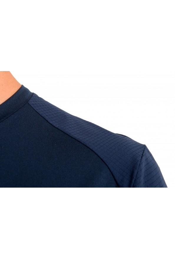 "Hugo Boss Men's ""Teetech 2"" Slim Fit Blue Stretch Crewneck T-Shirt: Picture 4"