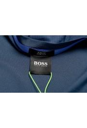 "Hugo Boss Men's ""Teetech 2"" Slim Fit Blue Stretch Crewneck T-Shirt: Picture 5"