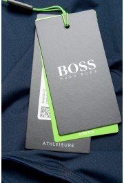 "Hugo Boss Men's ""Teetech 2"" Slim Fit Blue Stretch Crewneck T-Shirt: Picture 6"