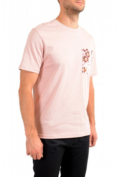 """Hugo Boss Men's """"TPoket"""" Pink Relaxed Fit Crewneck T-Shirt: Picture 2"""