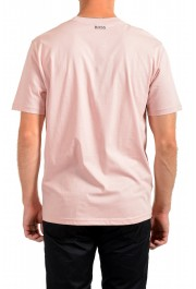 """Hugo Boss Men's """"TPoket"""" Pink Relaxed Fit Crewneck T-Shirt: Picture 3"""