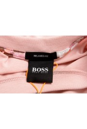 """Hugo Boss Men's """"TPoket"""" Pink Relaxed Fit Crewneck T-Shirt: Picture 5"""