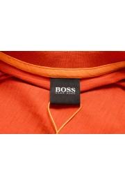 "Hugo Boss Men's ""Tikedo"" Bright Orange Crewneck T-Shirt: Picture 5"