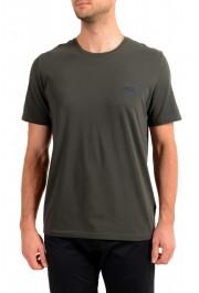 "Hugo Boss Men's ""Mix&Match"" Gray Stretch Crewneck T-Shirt"