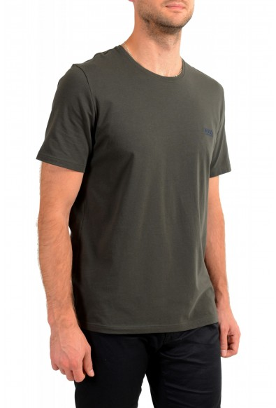 "Hugo Boss Men's ""Mix&Match"" Gray Stretch Crewneck T-Shirt: Picture 2"