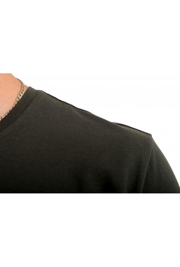 "Hugo Boss Men's ""Mix&Match"" Gray Stretch Crewneck T-Shirt: Picture 4"