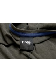 "Hugo Boss Men's ""Mix&Match"" Gray Stretch Crewneck T-Shirt: Picture 5"