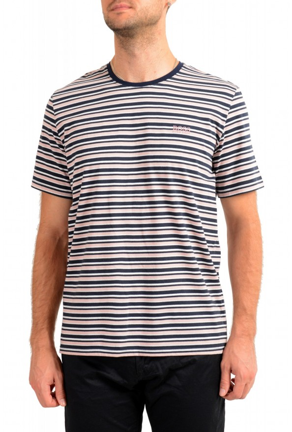 "Hugo Boss Men's ""Stripe T-Shirt"" Striped Crewneck T-Shirt"