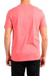 "Hugo Boss Men's ""Tee 3"" Pink Logo Print Crewneck T-Shirt: Picture 3"