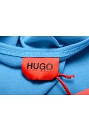 "Hugo Boss Men's ""TREPTOP"" Blue Logo Print Tank Top T-Shirt: Picture 4"