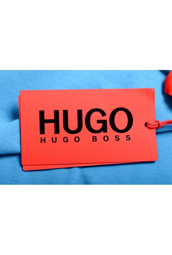 "Hugo Boss Men's ""TREPTOP"" Blue Logo Print Tank Top T-Shirt: Picture 5"