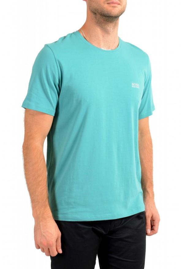 """Hugo Boss Men's """"Mix&Match"""" Green Stretch Crewneck T-Shirt: Picture 2"""