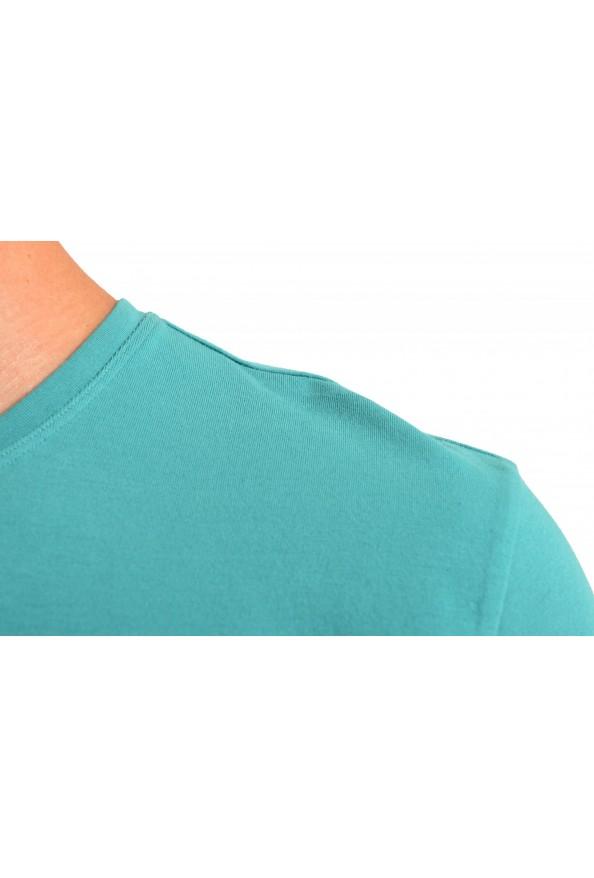 """Hugo Boss Men's """"Mix&Match"""" Green Stretch Crewneck T-Shirt: Picture 4"""