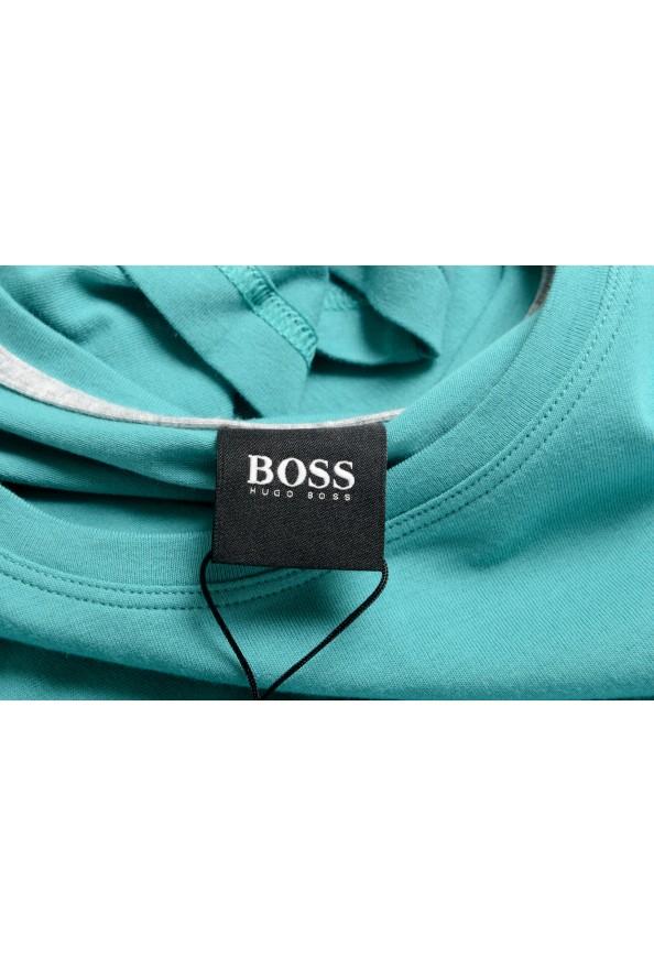 """Hugo Boss Men's """"Mix&Match"""" Green Stretch Crewneck T-Shirt: Picture 5"""