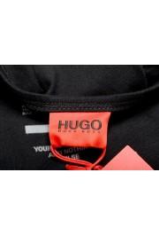 "Hugo Boss Men's ""TREPTOP"" Black Logo Print Tank Top T-Shirt: Picture 4"