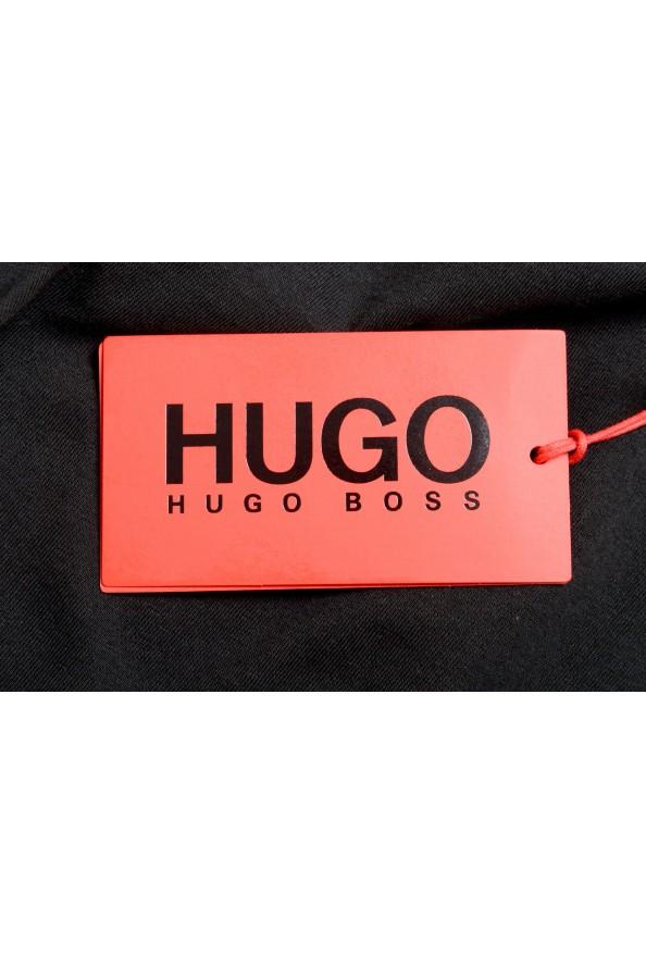 "Hugo Boss Men's ""TREPTOP"" Black Logo Print Tank Top T-Shirt: Picture 5"