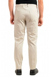 "Hugo Boss Men's ""Gaetano1"" Beige Flat Front Casual Pants: Picture 3"